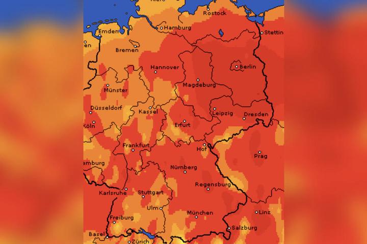 Der Juni 2019 war der wärmste seit Beginn der Wetteraufzeichnung 1881.