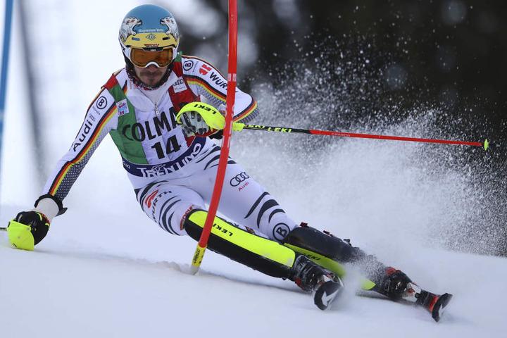Felix Neureuther beim Ski Alpin Weltcup in Madonna Di Campiglio, am 22.12.2018.