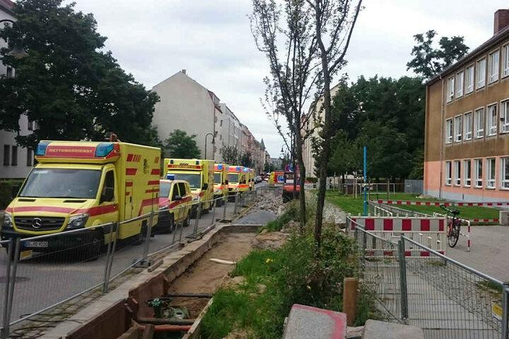 Sieben Kinder wurden bei der Attacke verletzt.