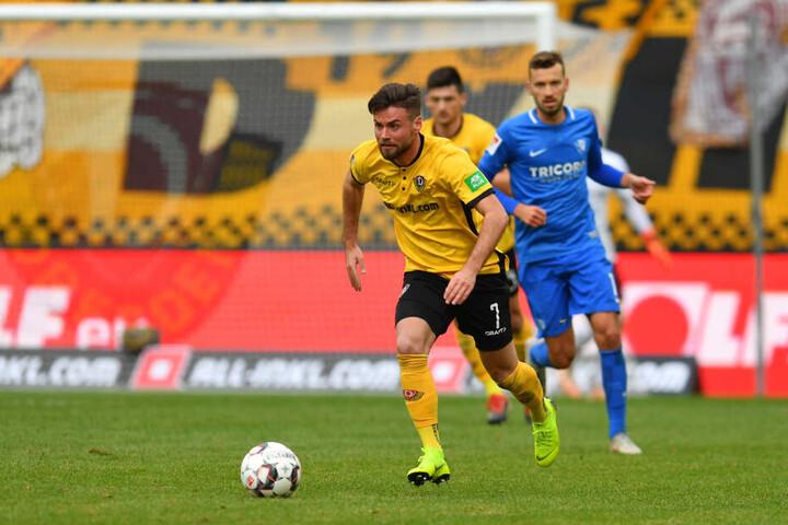 Niklas Kreuzer machte gegen Bochum viel Dampf auf der linken Außenbahn.