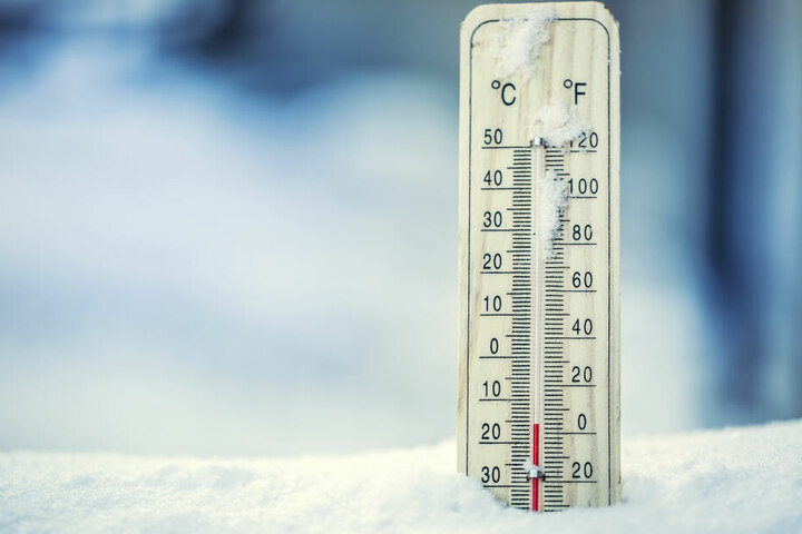 Das Thermometer zeigte in Marienberg am Dienstagmorgen -15,6 Grad an. (Symbolbild)