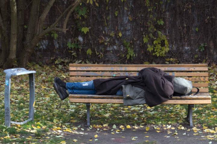 Die Zahl der Obdachlosen in Dresden steigt seit Jahren.