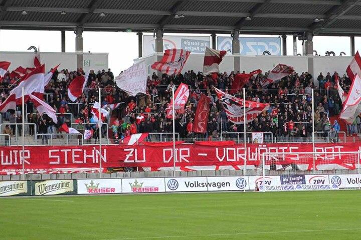 Die Fans des FSV-Zwickau sollen einen Frankfurter Spieler mit Affenlauten beleidigt haben. Viele Zeugen scheint es dafür aber nicht zu geben.