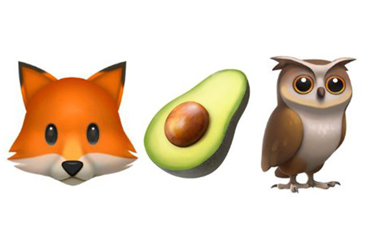 Unter den Neuheiten werden auch ein Fuchs, eine halbierte Avocado und eine Eule sein.