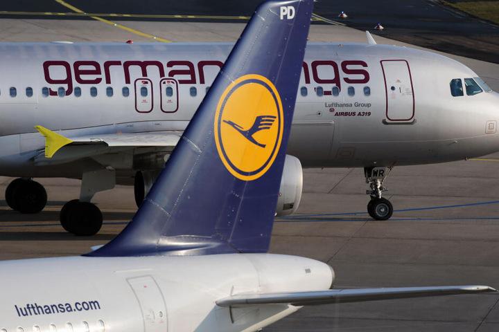 Wegen des Streiks der Germanwings-Flugbegleiter fallen vom 30. Dezember bis zum 1. Januar bundesweit etwa 170 Flüge aus.