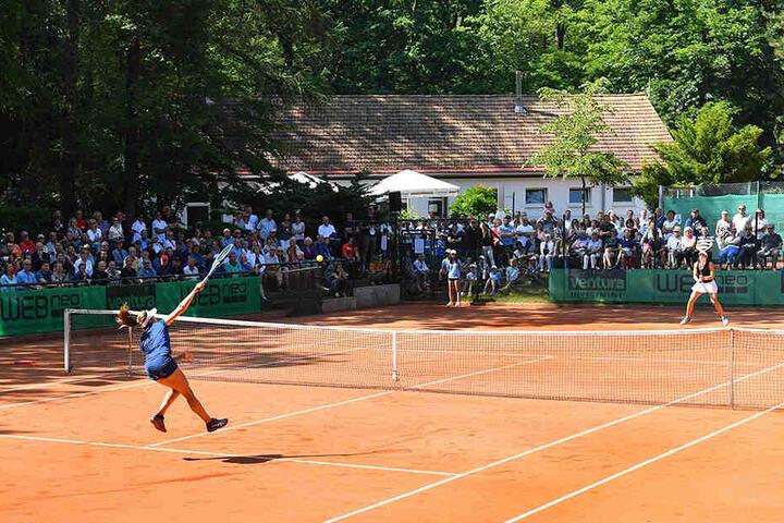 1200 Zuschauer sorgten im Waldpark für eine tolle Atmosphäre.