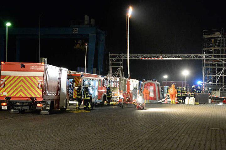 Rund 50 Feuerwehrmänner waren im Einsatz.