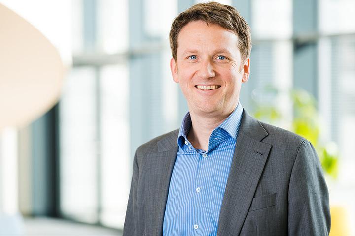 Erklärt das Legionellen-Problem: Vonovia-Sprecher Matthias Wulff (43).