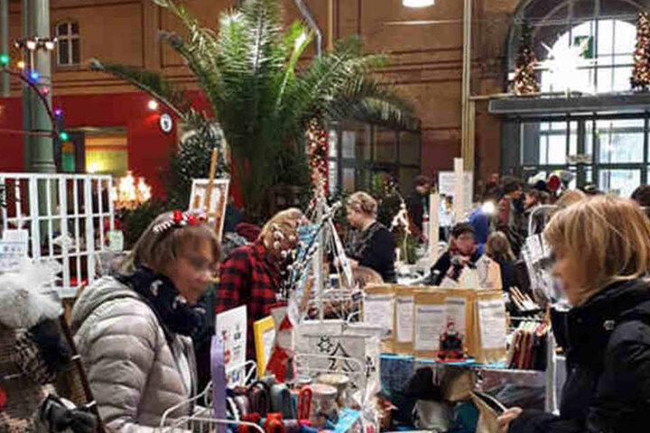 Die Arminiusmarkthalle in Moabit lädt am Samstag zum Shoppen ein.