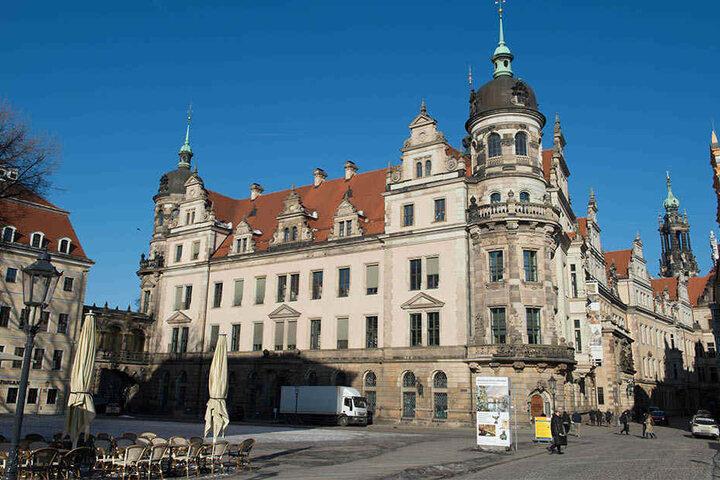 Das Münzkabinett befindet sich im Dresdner Residenzschloss.