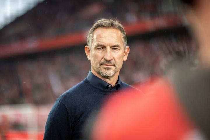 Veh glaubt an Trainer Achim Beierlorzer (51) und sein Team.