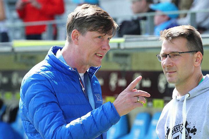 Wehren sich: Uwe Bauch (l.) und Andreas Georgi.