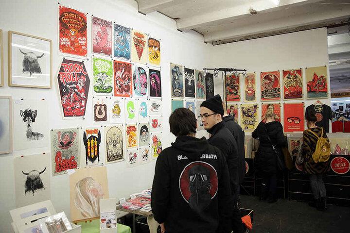 Die Berlin Graphic Days finden in diesem Jahr in der die Heeresbäckerei in der Köpenicker Straße statt.