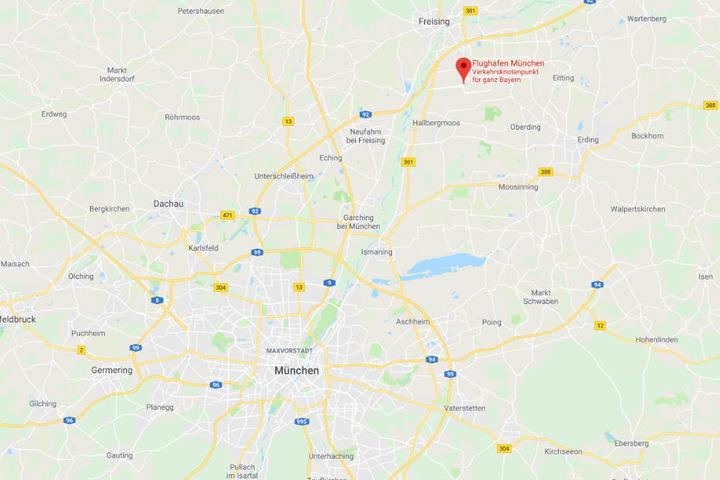 Bei der Kontrolle eines jungen Mannes am Flughafen München wurde Schmuggelware sichergestellt.