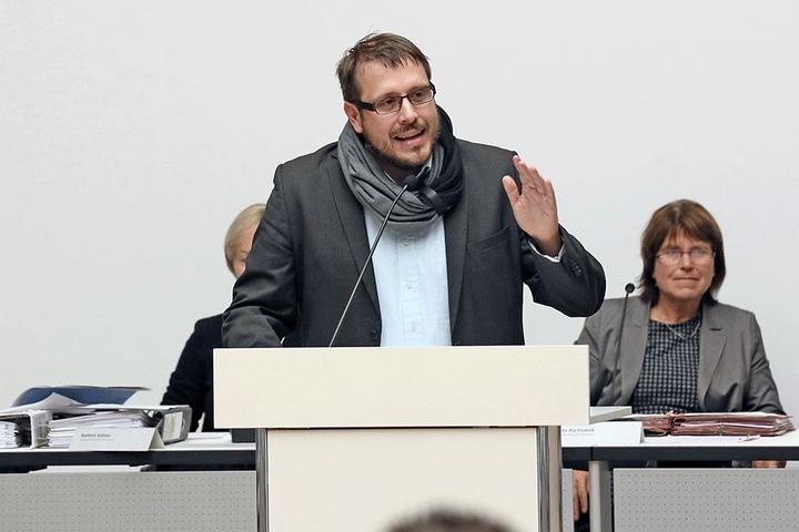 Die interne Aufarbeitung intensivieren und aus den gemachten Fehlern lernen - das erwartet Grünen-Stadtrat Lars Dörner (36) von der Stadt.