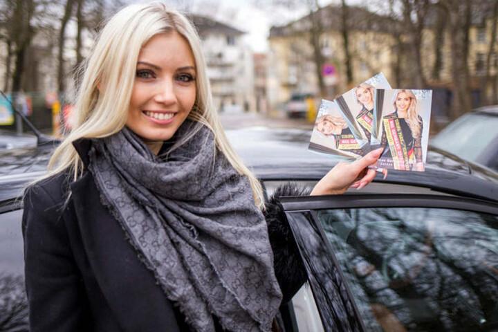 So schnell geht ein Jahr vorbei! Soraya Kohlmann (19) reicht die Miss-Germany-Krone schon am 24. Februar weiter.