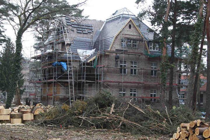 Die Villa von Bushido wurde 2014 saniert. Im Sommer soll das denkmalgeschützte Haus samt Grundstück zwangsversteigert werden