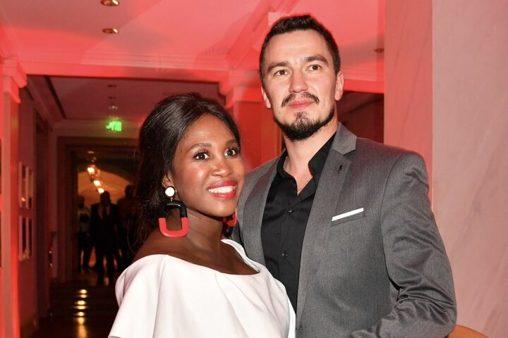 Motsi (37) und ihr Mann Evgenij Voznyuk (34, Tänzer).
