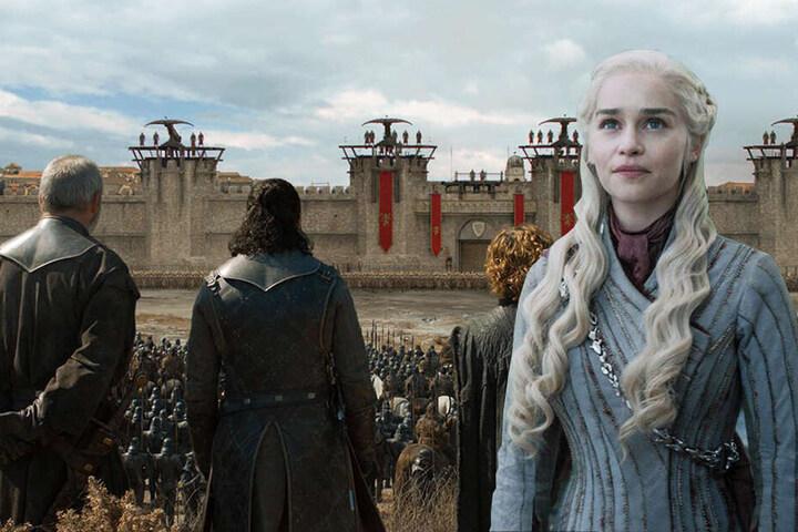 Der Wandel von Daenerys Targaryen (r., Emilia Clarke) wird noch für viele Wochen für Gesprächsstoff sorgen. (Bildmontage)