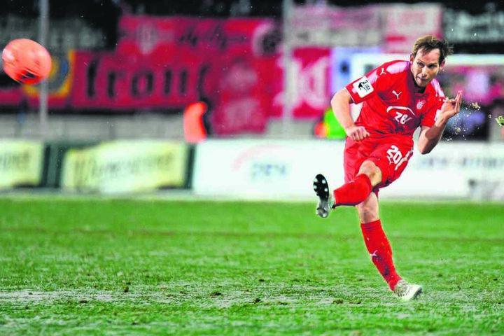 Seine Flanken sind kreuzgefährlich: Sechs FSV-Treffer bereitete René Lange in dieser Saison so vor.