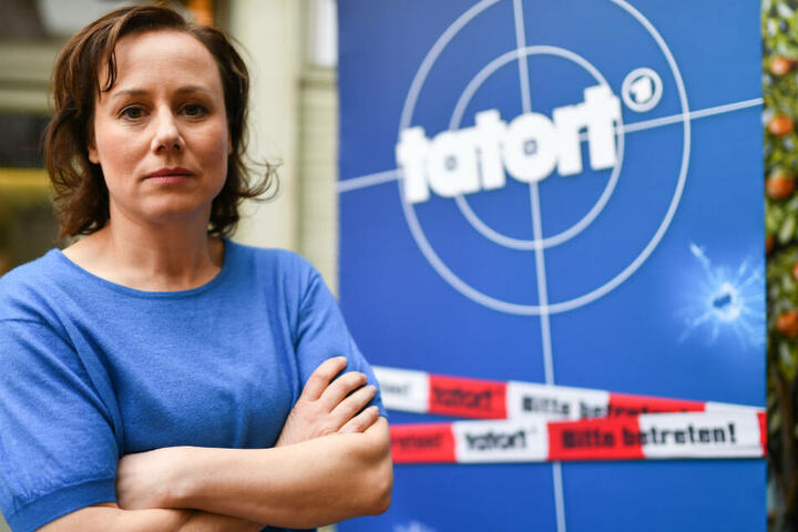 Eva Löbau spielt Tatort-Hauptkommissarin Franziska Tobler.