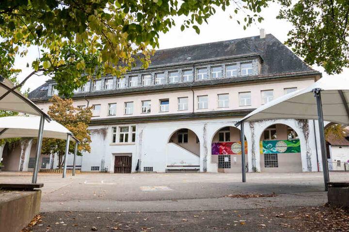 Außenansicht der Fridolinschule in Lörrach.