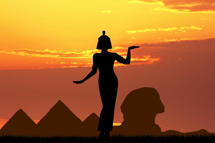 Inspiriert wurde die heiße Sexstellung von der ägyptischen Königin Kleopatra.