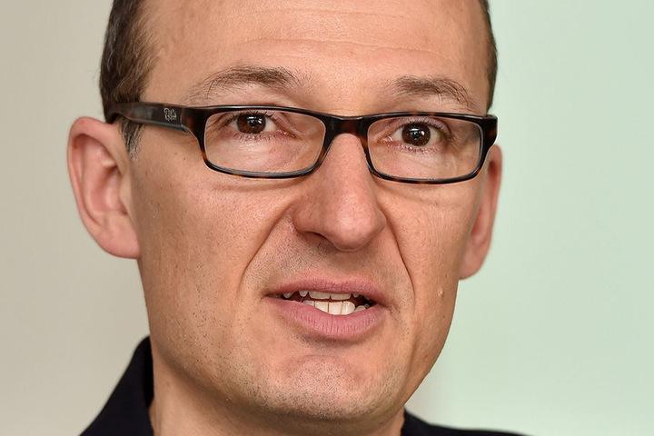 Lässt sich nicht entmutigen: Robert Franke (41) vom Amt für Wirtschaftsförderung in Dresden.