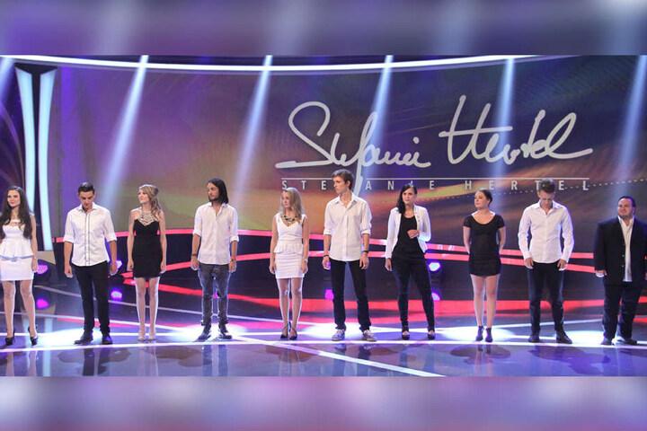 Die zehn Finalisten der letzten Staffel traten unter anderem im MDR zusammen  mit Stefanie Hertel (37) auf.