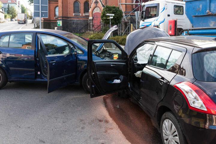 Der Unfall passierte direkt vor der Nicolaikirche.