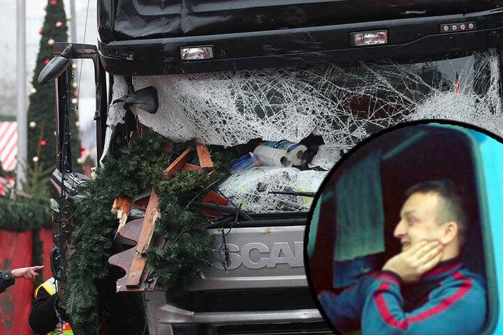 Der polnische Lkw-Fahrer war nun offenbar schon nicht mehr ansprechbar, als der Attentäter mit dem Lkw auf den Berliner Weihnachtsmarkt raste.