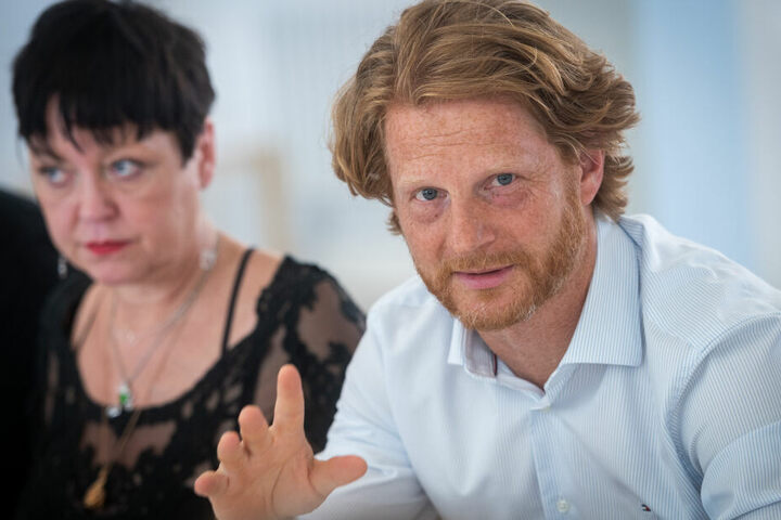 Baubürgermeister Michael Stötzer (46, Grüne) braucht mehr Geld.