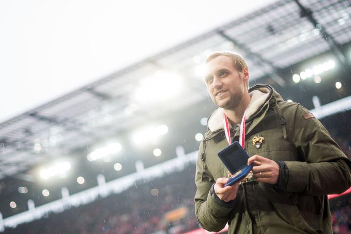 """Marcel Risse (29) erzielte bereits 2016 das """"Tor des Jahres""""."""