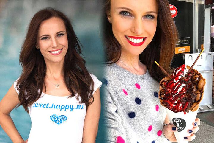 """Auf Instagram teilt Susanne Schöne (36) als """"sweet.happy.me"""" ihre süßen Sünden aus aller Welt mit ihren Followern."""