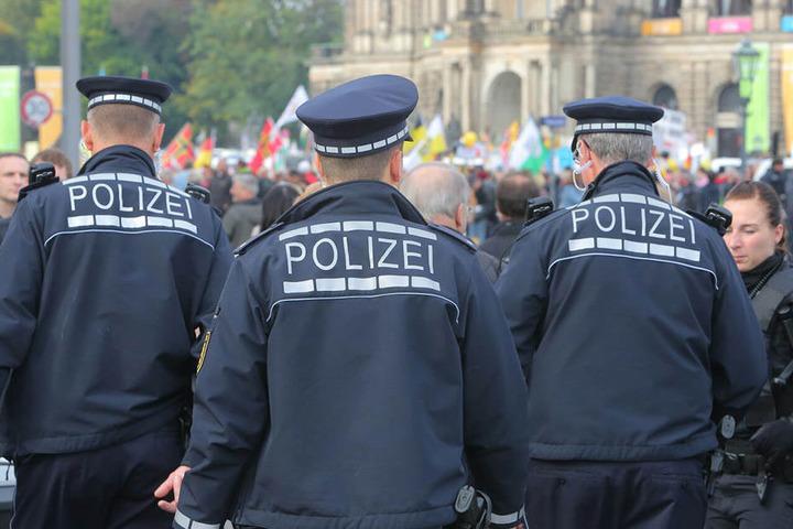 Auf die Polizei kommt es am heutigen Tag an.