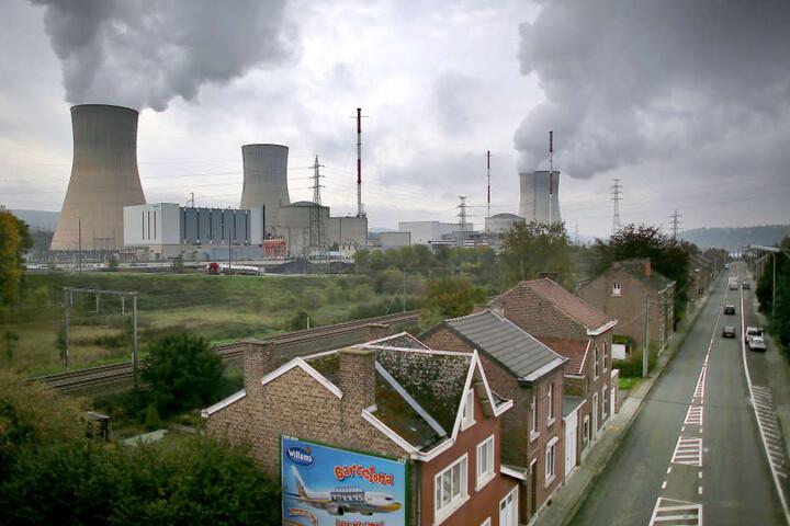 Das belgische Atomkraftwerk Tihange steht in Grenznähe zu Deutschland.