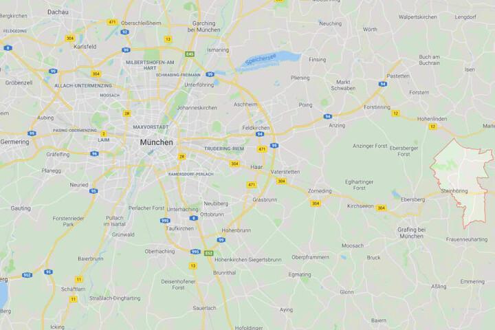 In Bayern ist es im Landkreis Ebersberg bei Steinhöring zu einem schweren Unfall gekommen.