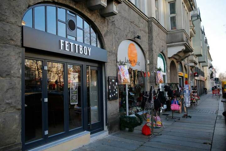 """Das neue """"Fettboy"""" auf der Bautzener/Ecke Hoyerswerdaer Straße."""