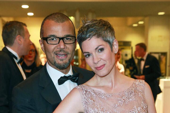 Glücklich wie eh und je: Cheryl Shepard mit ihren Mann Nikolaus Okonkwo.