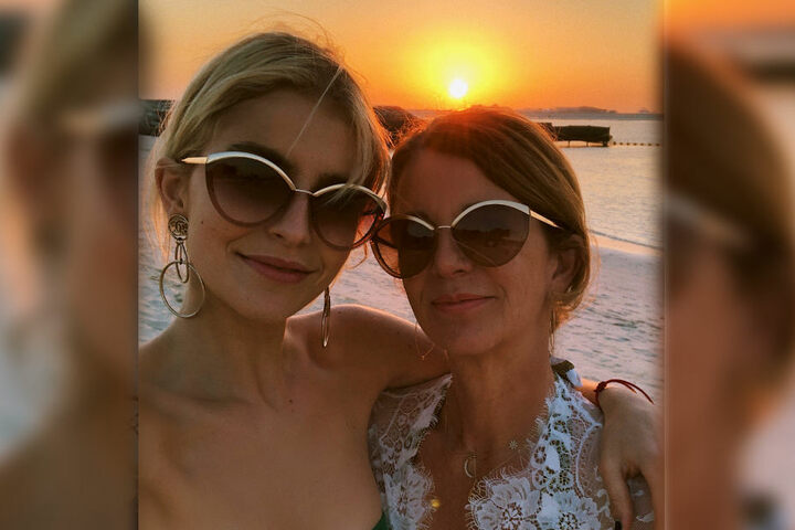 Ein Herz und eine Seele: Caro Daur postet regelmäßig Fotos mit ihrer Mutter.