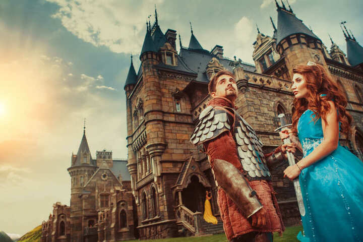 Beim Michaelismarkt kannst Du auch Ritter bestaunen.