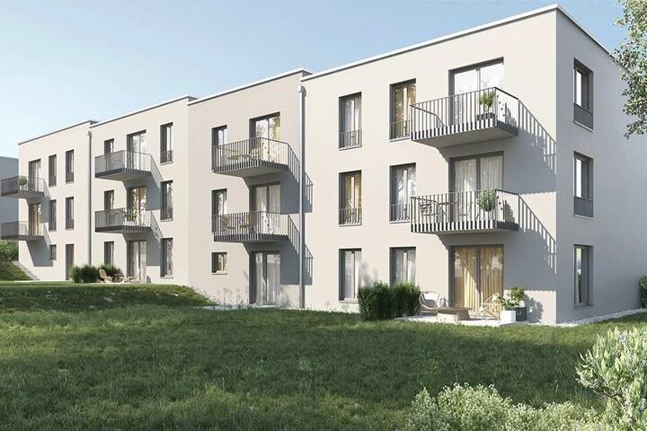 So sollen die künftigen von der Stadt gebauten Wohnungen mal aussehen.
