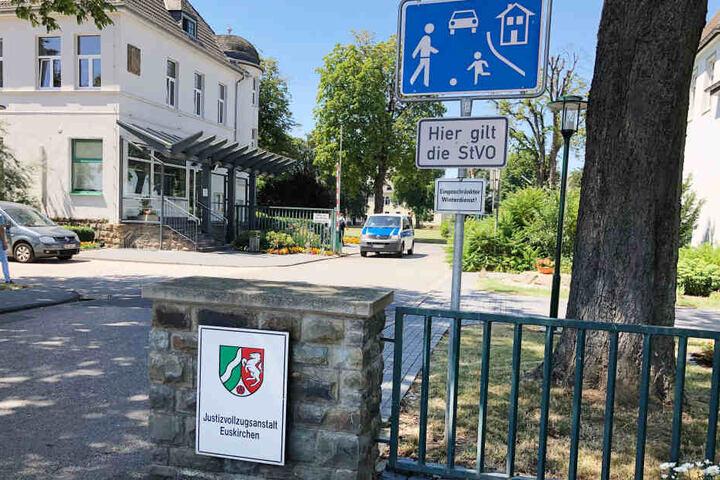 Blick auf die JVA Euskirchen.