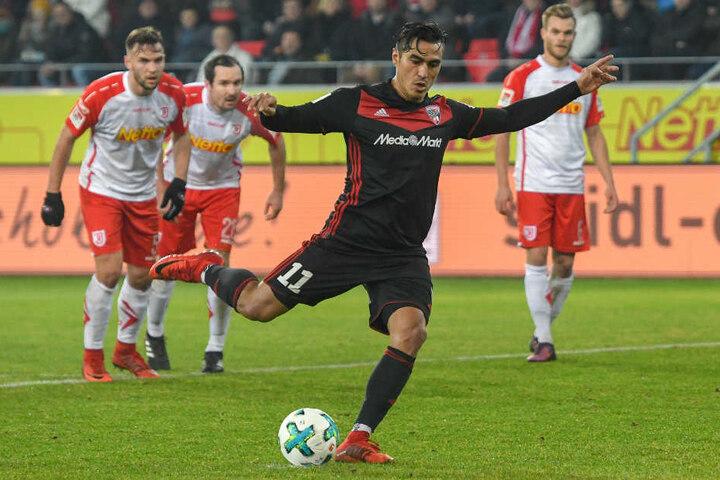 Dario Lezcano hat um die Auflösung seines Vertrags in Ingolstadt gebeten.