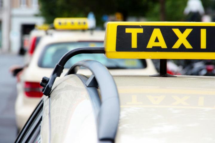 Am Mittwoch gibt es in mehreren deutschen Städten eine Protestaktion der Taxifahrer. (Symbolbild)
