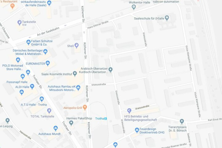 Der Vorfall soll sich in der Uranusstraße ereignet haben.