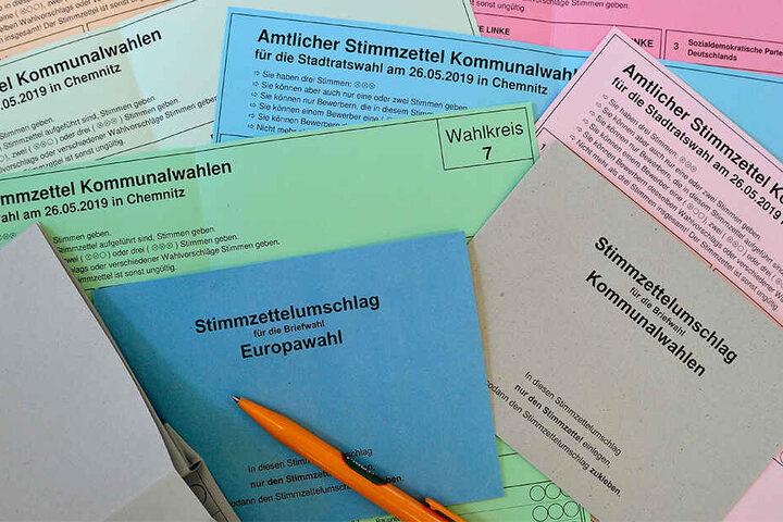 Offenbar ist das Wahlamt mit den unerwartet vielen Briefwahlanträgen überfordert.