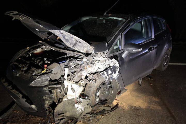 Am Ford entstand Totalschaden.