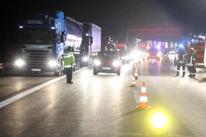 Auf der A4 bildeten sich am Donnerstag mehrere Staus nach Unfällen.