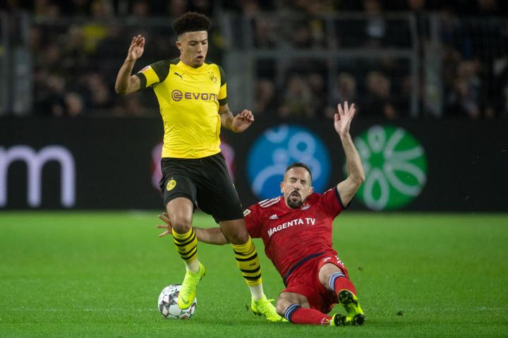 Franck Ribery war nach der Niederlage gegen den BVB ordentlich angefressen. (Archiv)
